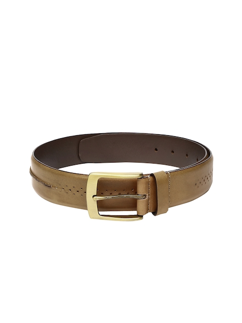 Ruosh Men Brown Leather Belt
