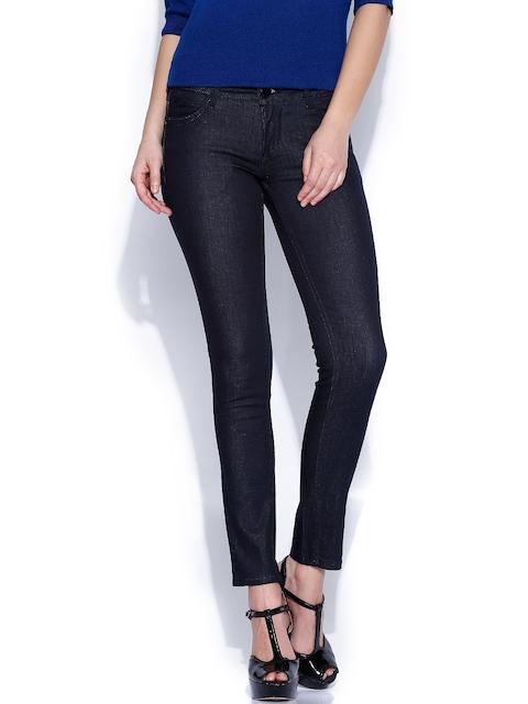 Van Heusen Woman Navy Legging Fit Stretchable Jeans