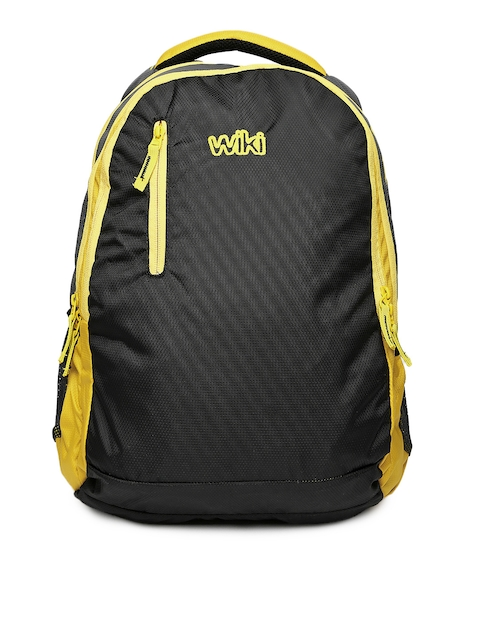 Wiki by Wildcraft Unisex Black Backpack
