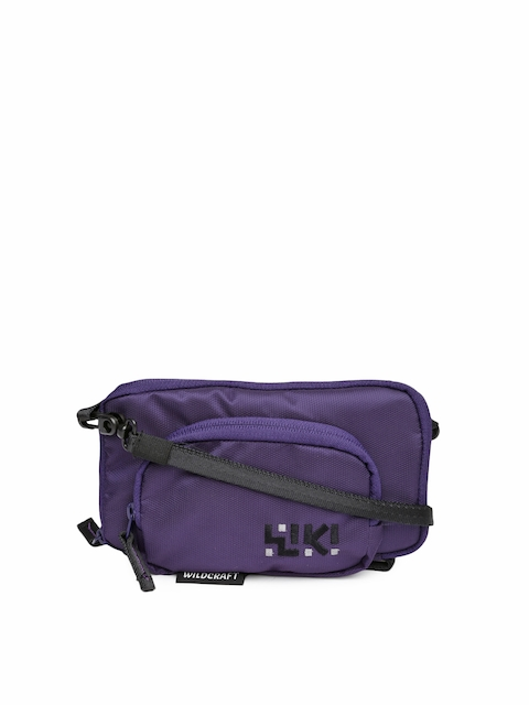 Wiki by Wildcraft Purple Sling Bag  available at myntra for Rs.499