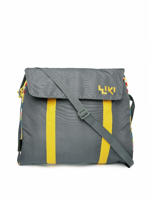 Wiki By Wildcraft Grey Uni Messenger Bag