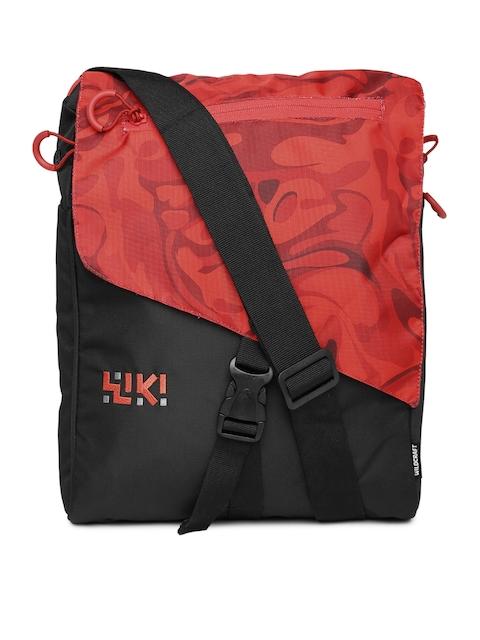 Wiki by Wildcraft Black Messenger Bag