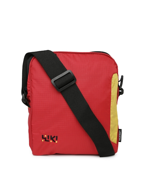 Wiki by Wildcraft Red Sling Bag  available at myntra for Rs.359
