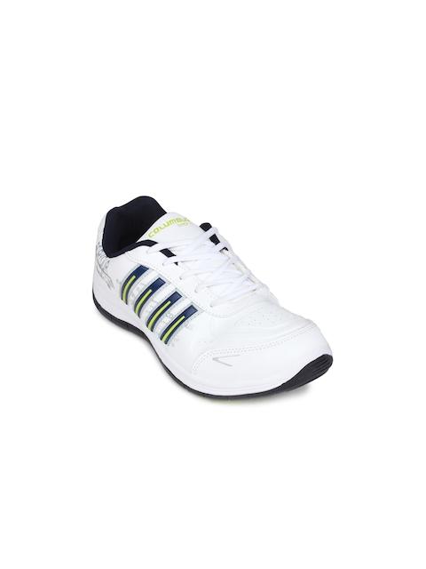 Columbus Men White Sports Shoes