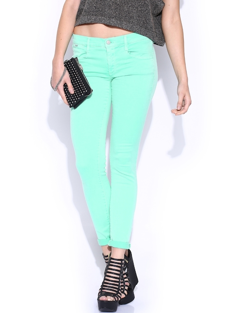 GAS Sea Green Sophie Skinny Stretchable Jeans