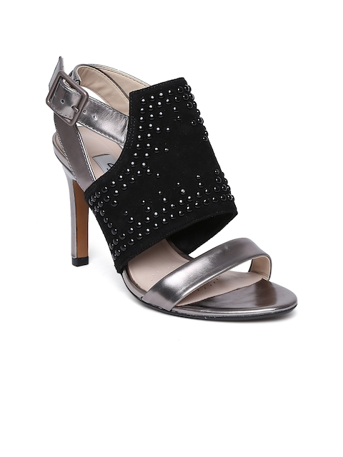 Clarks Women Black Embellished Stilettos