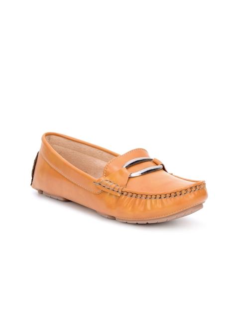 Bruno Manetti Women Brown Loafers