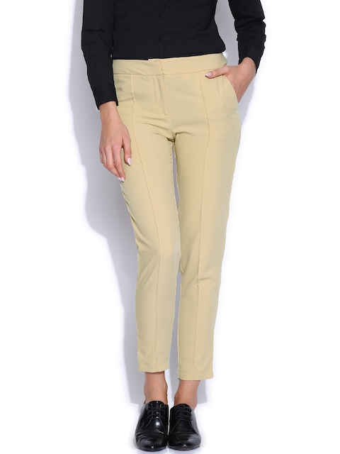 Arrow Woman Beige Trousers