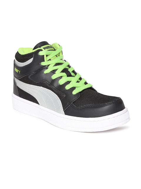 puma men black casual shoes for men price in india on july