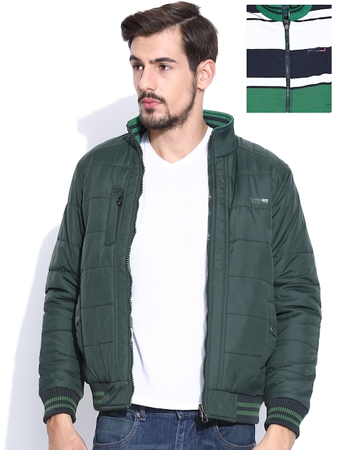 Fort Collins Green Padded Reversible Jacket