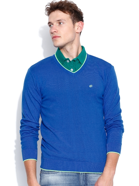 People Blue Sweater