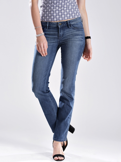 GUESS Blue Slim Fit Stretchable Jeans