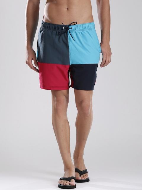 Nautica Blue & Magenta Swim Shorts