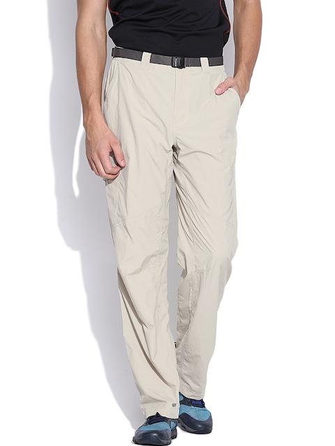 Columbia Beige Silver Ridge Cargo Trousers