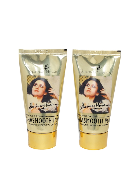 Shahnaz Husain Set of 2 Shasmooth Plus Almond Under-Eye Creams
