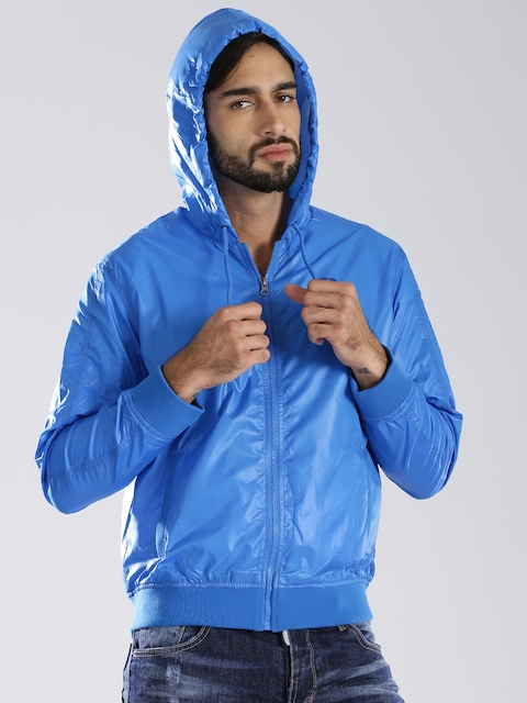 Russell Athletic Blue Hooded Sweatshirt