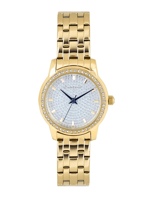 GIORDANO Women Silver-Toned Dial Watch 2712-22