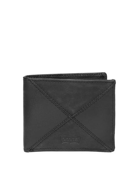 Levi's Men Black Leather Wallet