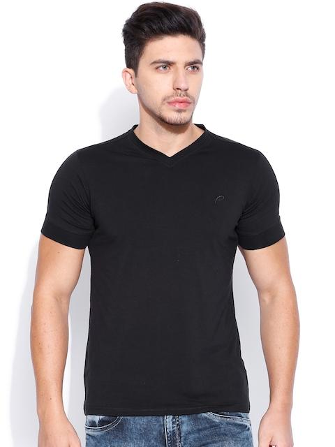 Proline Black Slim Fit V-Neck T-shirt