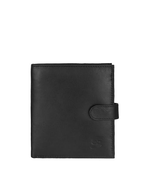 Swiss Design Men Black Wallet