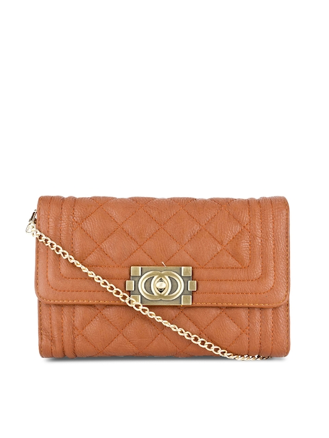 Swiss Design Brown Clutch  available at myntra for Rs.524