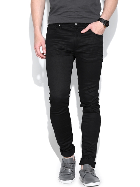 Jack & Jones Black Liam Skinny Fit Jeans