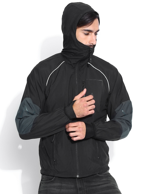Wrangler Black Moto Jacket  available at myntra for Rs.2198