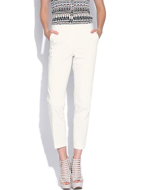 Vero Moda Cream-Coloured Trousers