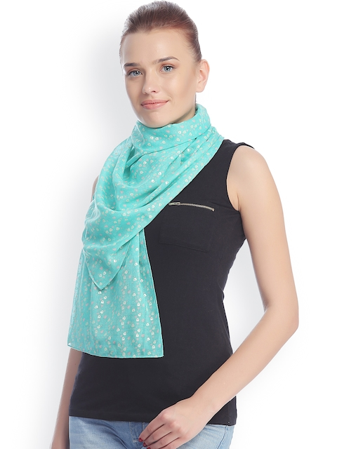 CoolThreads Green Printed Stole