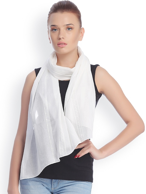 CoolThreads White Stole
