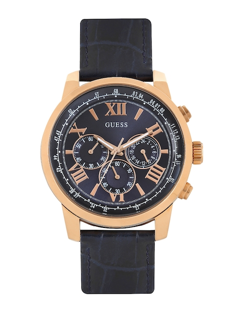 Guess W0380G5 Navy Blue Dial Chronograph Men's Watch (W0380G5)