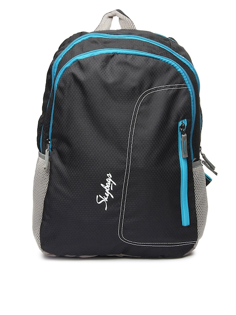 Skybags Unisex Black Backpack