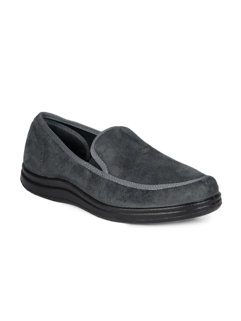 Gliders Men Grey Shoes