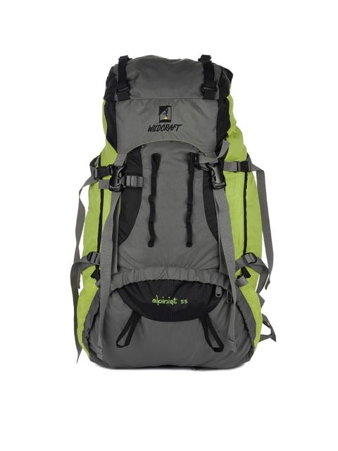 Wildcraft Unisex Grey & Green Rucksack