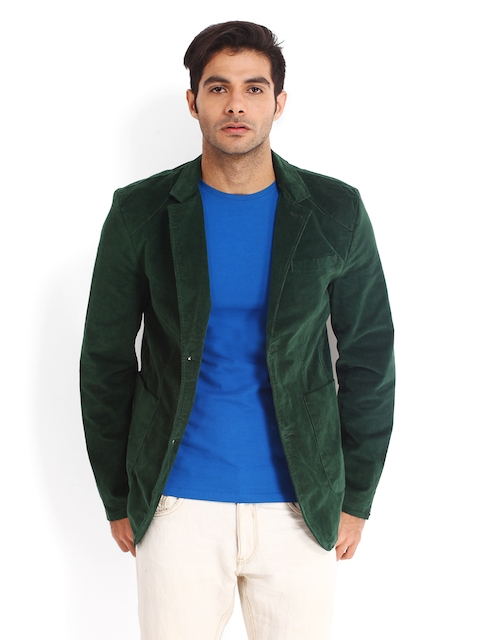 Being Human Men Green Jacket
