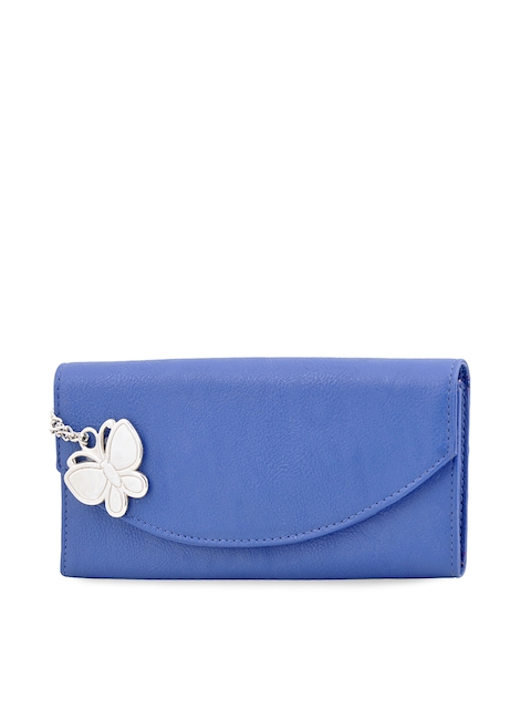 Butterflies Women Blue Wallet  available at myntra for Rs.439