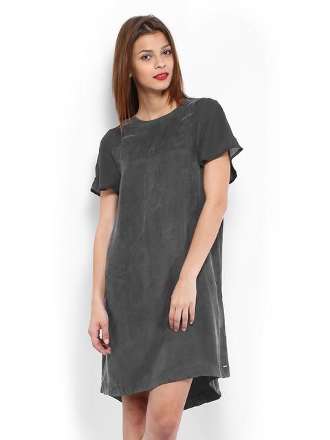 Calvin Klein Jeans Grey Shift Dress