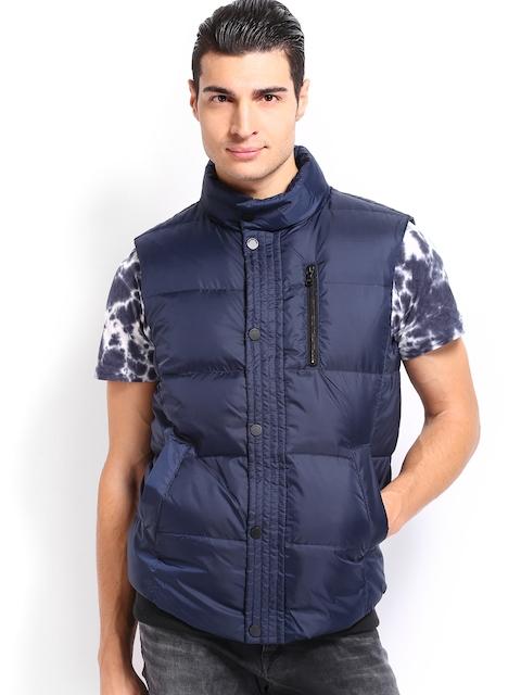 Calvin Klein Jeans Men Navy Padded Jacket