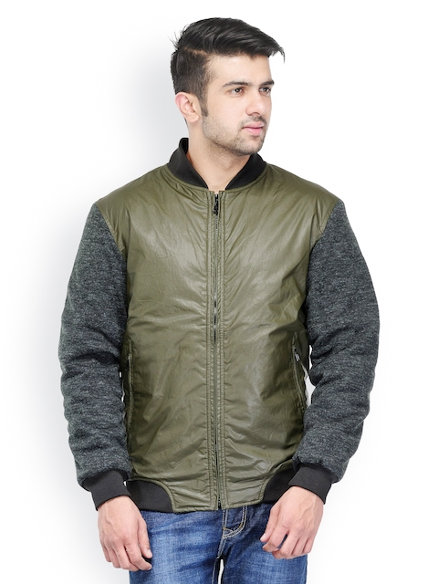 Canary London Men Olive Green Jacket