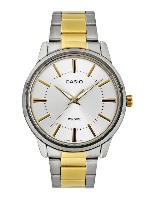Casio Enticer MTP-1303SG-7AVDF (A498) Analog White Dial Men's Watch (MTP-1303SG-7AVDF (A498))