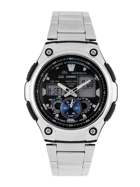 CASIO Men Black Dial & Digital Watches AD160