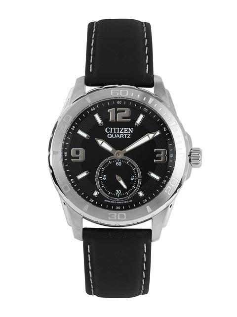 Citizen Analog Black Dial Men's Watch, AO3010-05E