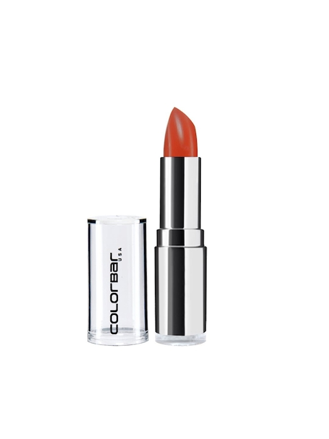 Colorbar Velvet Matte Obsessed Orange Lipstick For Women 60 OR, 4.2 GM