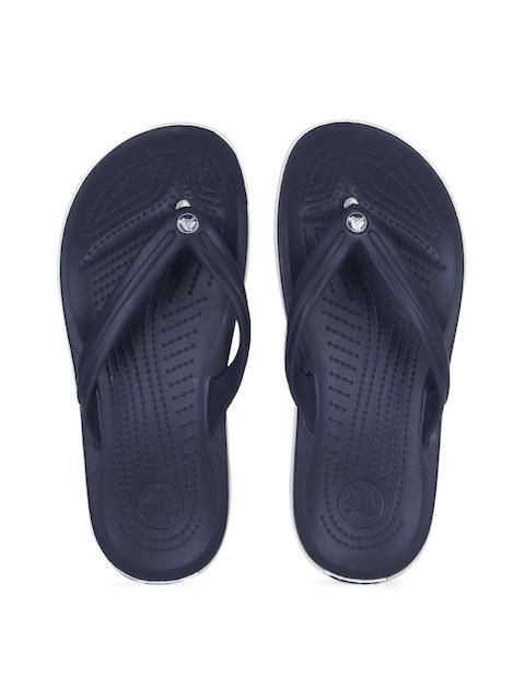 Crocs Unisex Navy Crocband Flip Flops