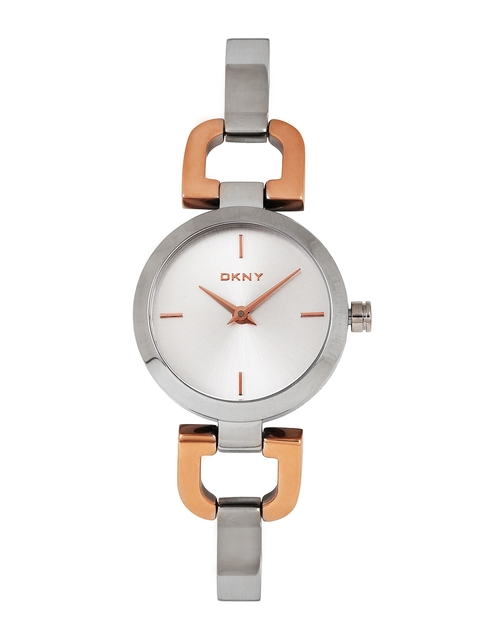 DKNY Women Silver-Toned Dial Watch NY2137I
