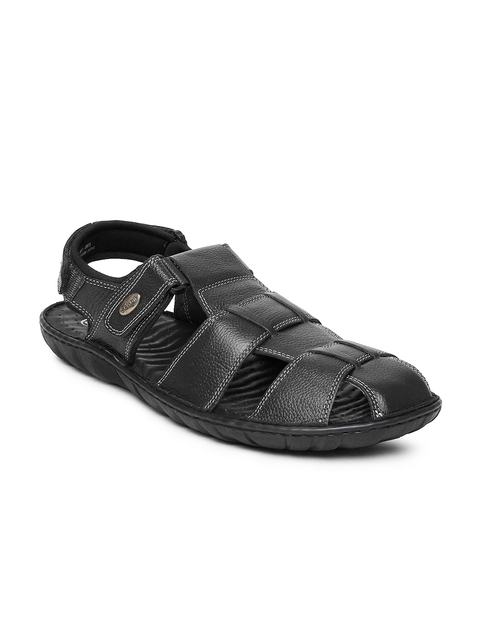 Dr. Scholl Men Black Sandals  available at myntra for Rs.1399