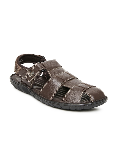 Dr. Scholl Men Brown Sandals  available at myntra for Rs.1599