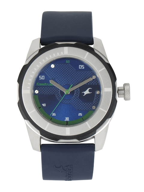 Fastrack Men Blue Dial Watch 3099SP05