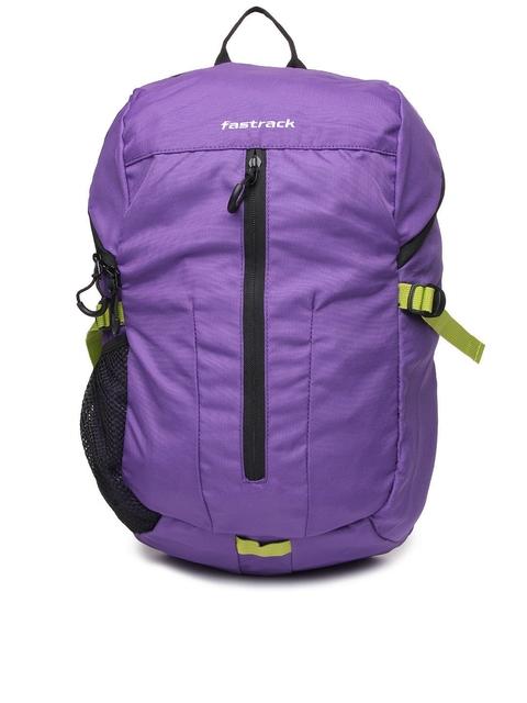 Fastrack Unisex Purple Backpack