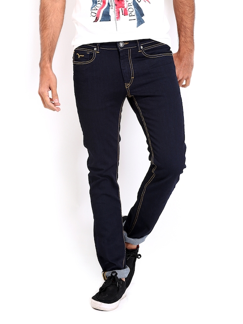 Flying Machine Men Navy Jackson Skinny Fit Jeans